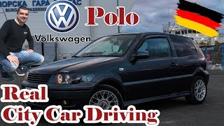 Volkswagen Polo /real city car driving/ POV #3