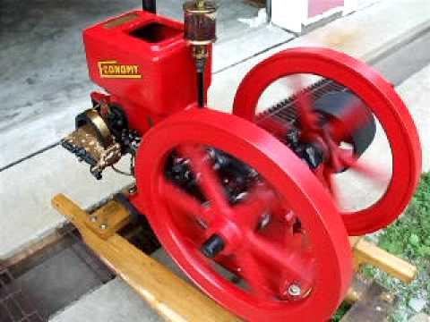 Economy Hit & Miss Engine 1 1/2 HP