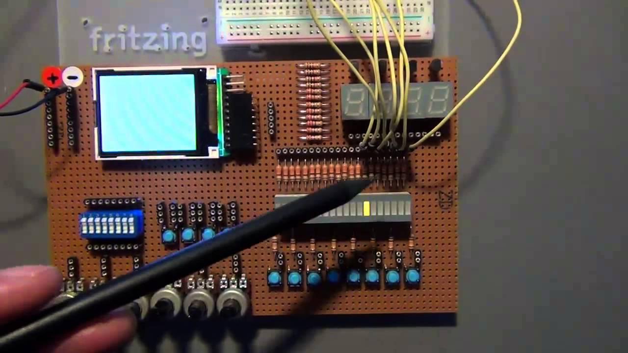 Arduino projekt kapitel das lauflicht youtube