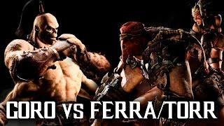 GORO VS FERRA/TORR - Mortal Kombat X   iTownGamePlay