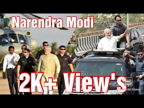 Narendra Modi || Going Back To Helipad || Kalyan || Pravin Jalora