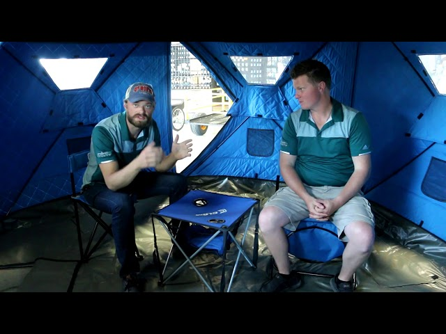 Clam Escape Ice Thermal Pop Up Shelter Review