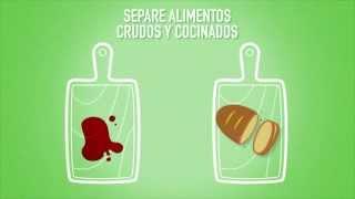 OMS: Las cinco claves para la inocuidad de los alimentos (versión corta)