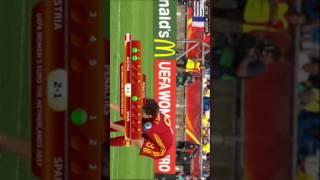 Österreich gegen Spanien Elfmeterschießen Teil 1