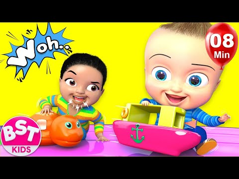 Surprise Fun Ball Pit Song |+More BST Kids Songs & Nursery Rhymes
