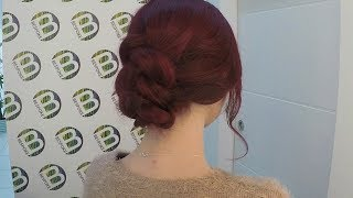 Tucked In Braid Hair Tutorial