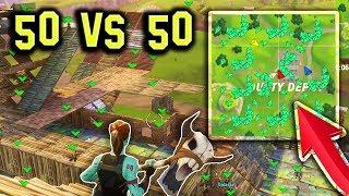 BEST 50 vs 50 TEAM !   Fortnite Best WTF & FUNNY Stream Moments (Battle Royale)