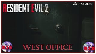 West Office Safe Code Combination Solution - Hip Pouch Capacity Upgrade - Resident Evil 2 Remake