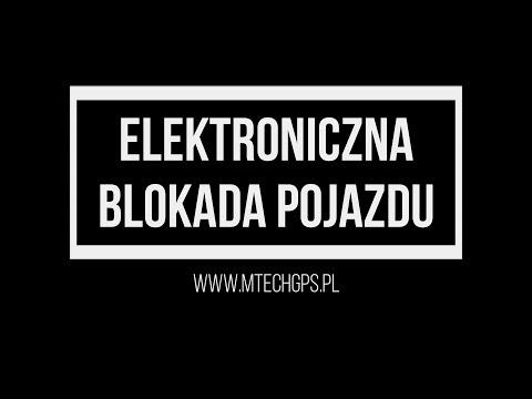Elektroniczna Blokada Pojazdu M-TECH GPS WWW.MTECHGPS.PL