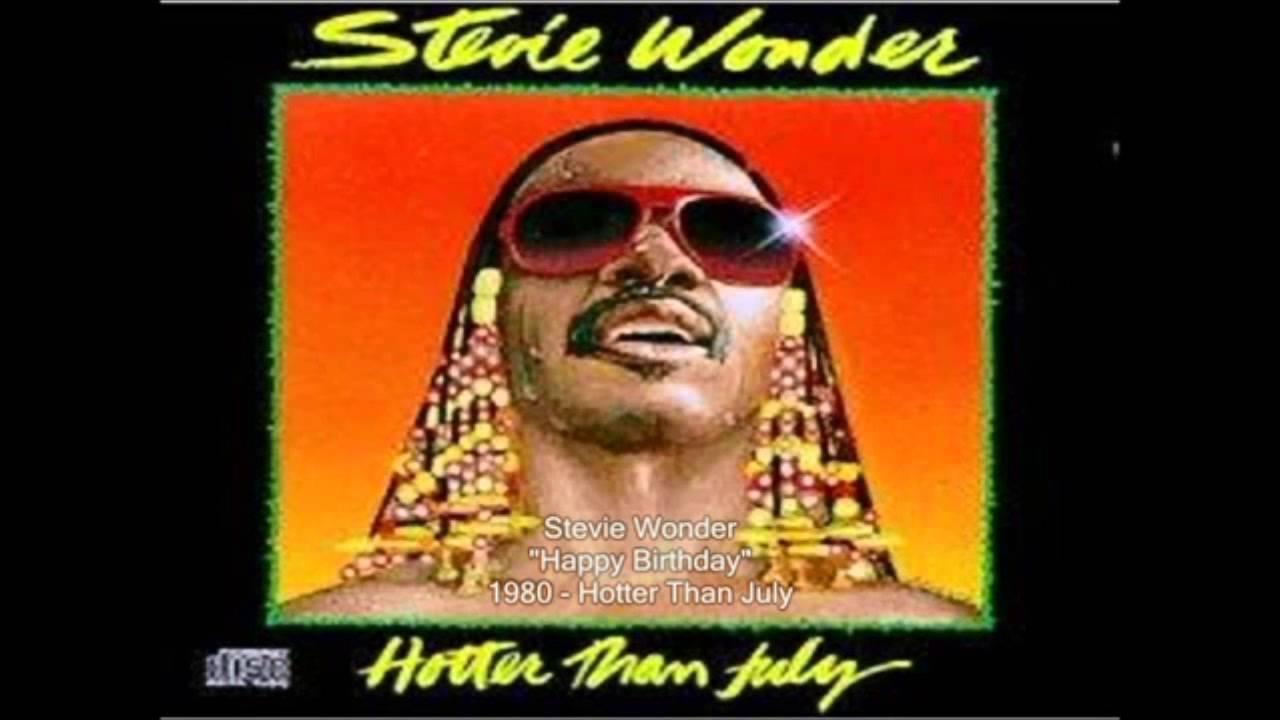 Stevie Wonder Happy Birthday Tune Youtube