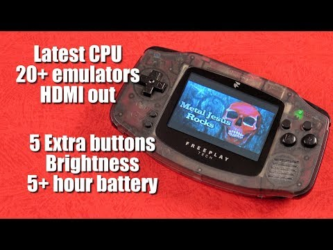 Ultimate RASPBERRY Pi Gaming handheld! - Metal Jesus Special Edition