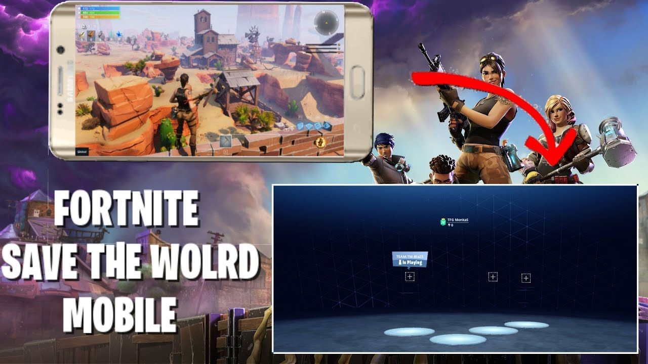 FORTNITE SAVE THE WORLD ON MOBILE? (ANDROID/IOS)