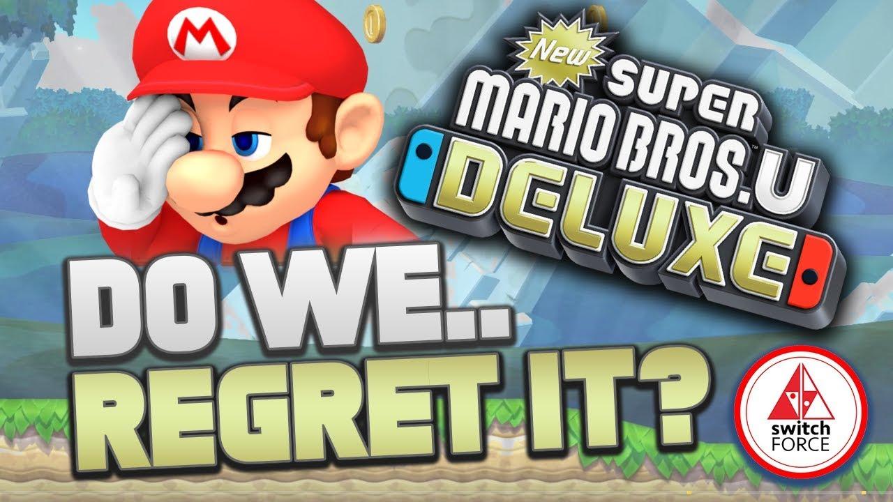 Do We Regret Buying New Super Mario Bros U Deluxe On Nintendo
