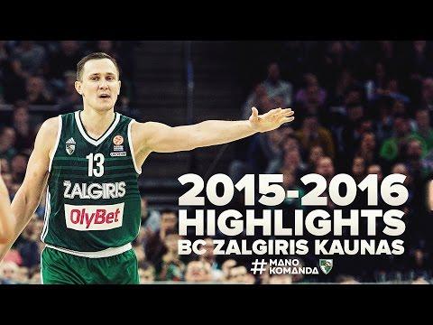 Paulius Jankūnas 2015-2016 season highlights