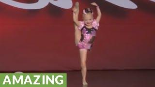 Sassy 5-year-old dancer proves she deserves 1st place