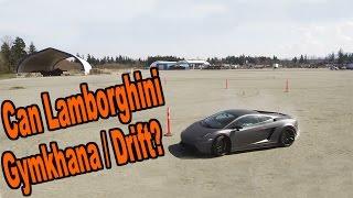 One of DailyDrivenExotics's most viewed videos: Gymkhana Lamborghini