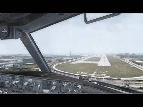 FSX 2015 | Core i7 @ 3.4 GHz | 737 Landing in Miami