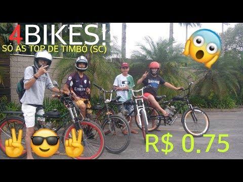 ROLÊ INSANO COM 4 BIKES MOTORIZADAS!! 《João_Vitor.YT2》