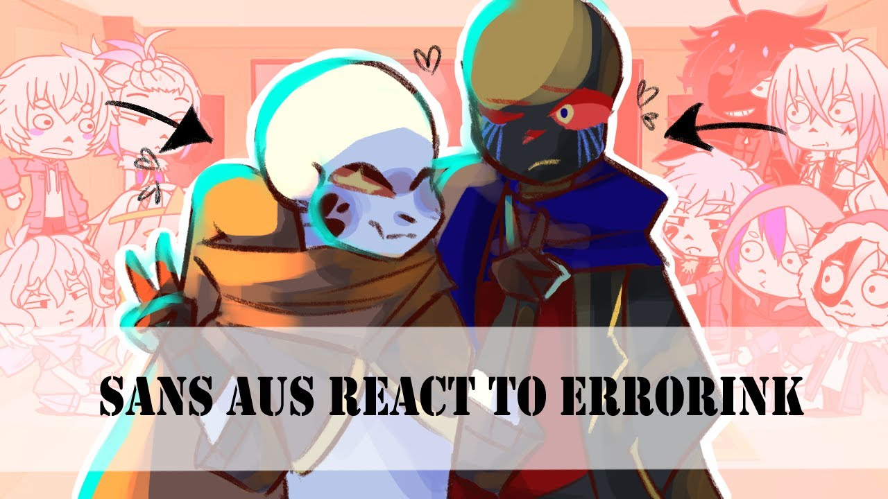 Download Sans Aus react to Errorink