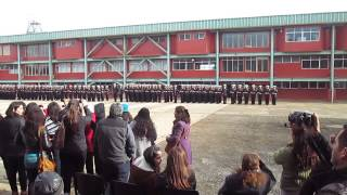Juramento a la Bandera   Soldados Infantes de Marina