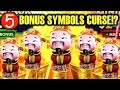 ★5 BONUS SYMBOLS TRIGGER!!★ CURSED!? DANCING FOO GOLD STACKS 88 Slot Machine Bonus Win (Aristocrat)