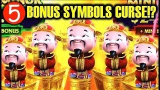 ★5 BONUS SYMBOLS TRIGGER!!★ CURSED!? DANCING FOO GOLD STACKS 88 Slot Machine Bonus Win (Aristocrat)