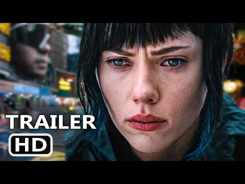 GHOST IN THE SHELL New TV Spot Trailer (2017) Scarlett Johansson Action Movie HD