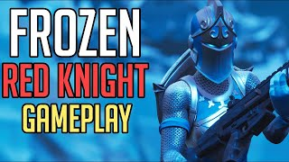 New Frozen Red Knight Skin Gameplay Fortnite Battle Royale