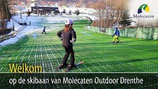Welkom op de skibaan van Molecaten Park Outdoor Drenthe, Wezuperbrug (16 km vanaf Emmen)