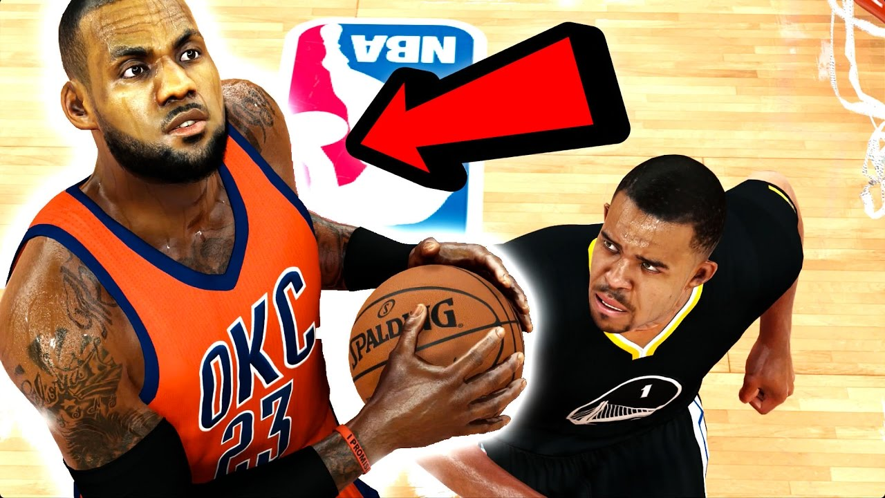 competitive price ad012 7ebd4 What If Lebron James Went To The Oklahoma City Thunder? NBA 2K17 Challenge