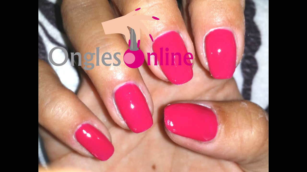 Favori Pose de vernis permanent, vernis uv avec top coat, faux ongles  SB37