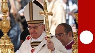 """Prima Messa per Papa Francesco: """"non trascurate i deboli"""""""