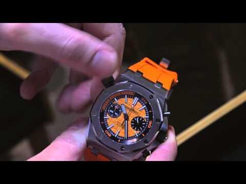 Audemars Piguet Royal Oak Offshore Diver Chronograph Watch Hands-On | ABlogtoWatch