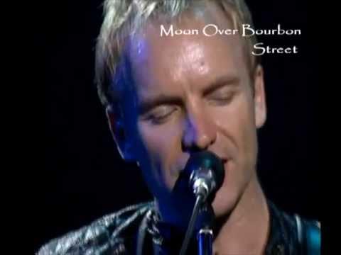 STING - Moon Over Bourbon Street