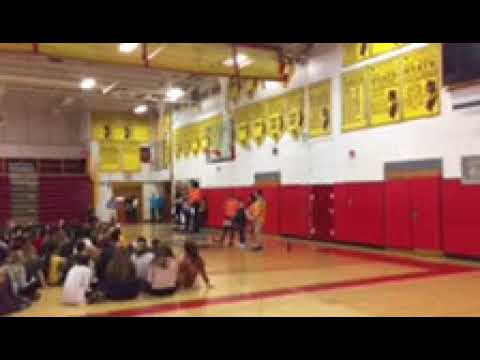 Voorhees High School national school walkout day on March 14, 2018