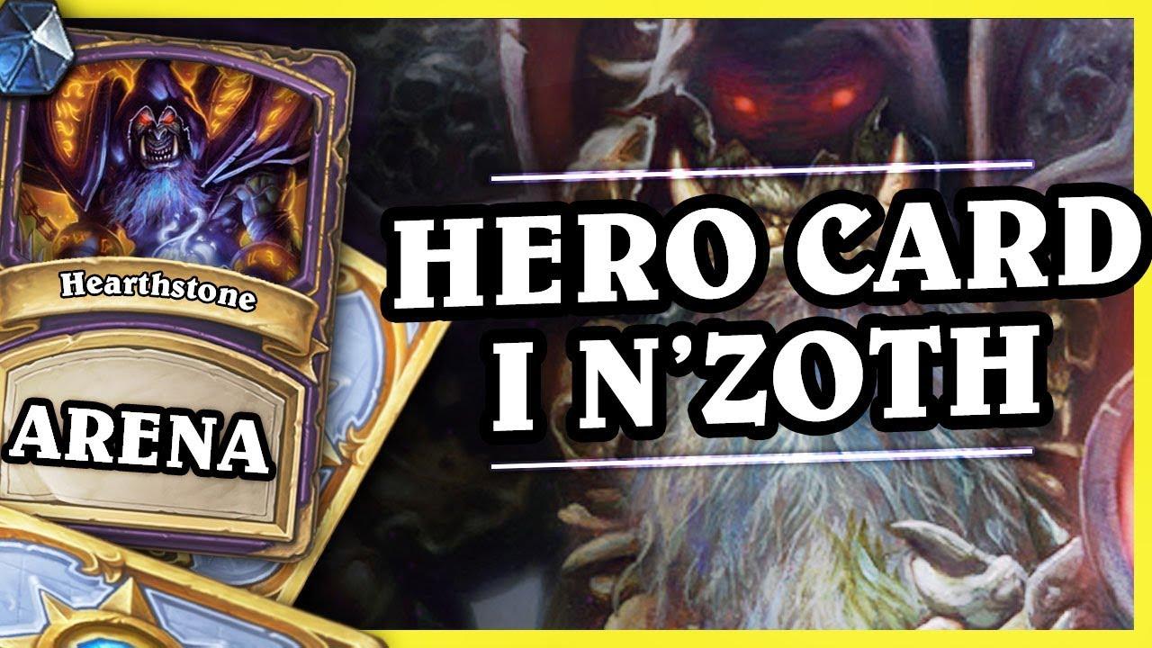 HERO CARD I N'ZOTH – WARLOCK – Hearthstone Arena