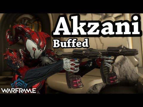 Warframe | Akzani [Buffed] (4 Forma Build)