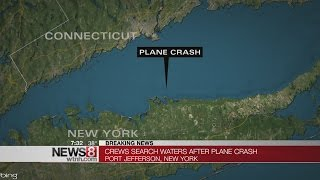 Plane crashes in Long Island Sound