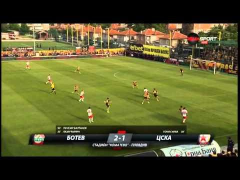 Botev Plovdiv 3-2 CSKA Sofia