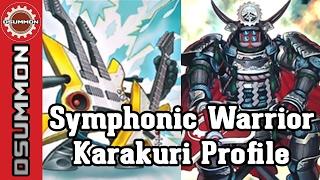 yu gi oh symphonic warrior karakuri 2017 deck profile unleash the machines