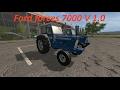 Mod Vorstellung Farming Simulator Ls17:Ford forces 7000 V 1.0