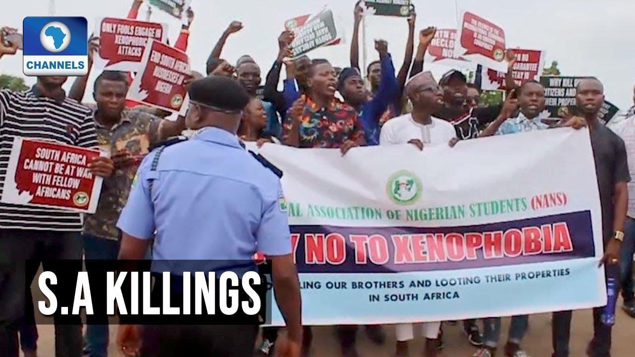 NANS In Adamawa, Ogun Protest Killing s Of Nigerians In South Africa