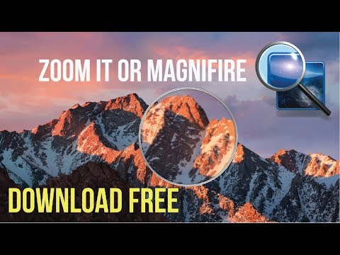 Zoomit or magnifier for macbook pro