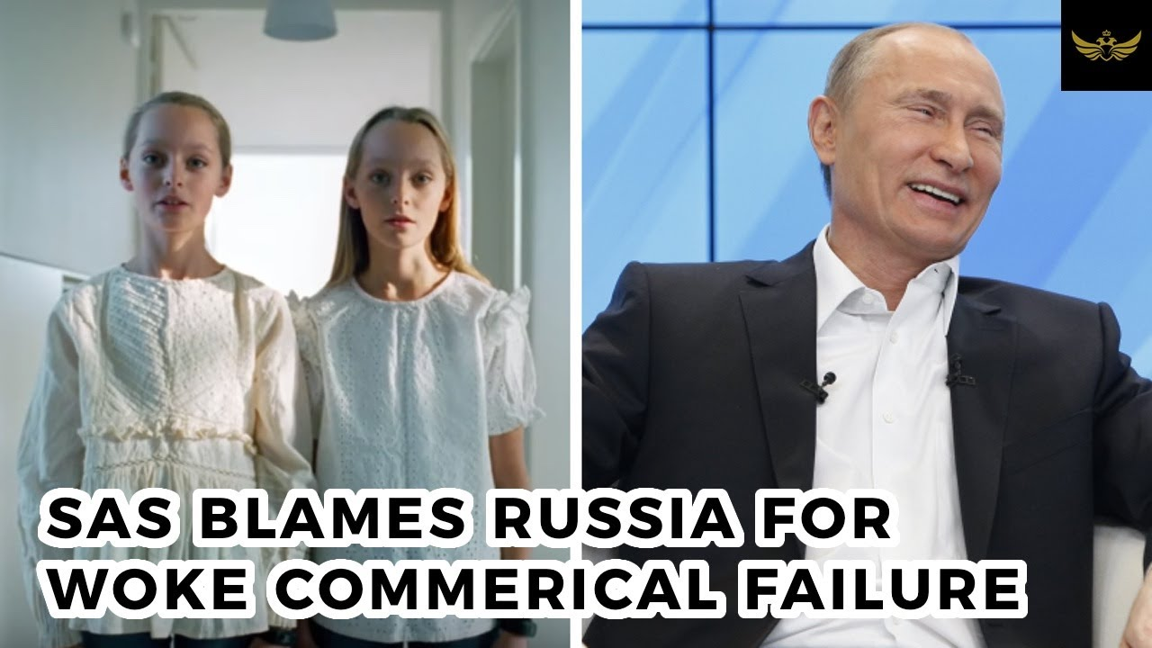 SAS Airlines blames self-hating woke commercial on...RUSSIA!