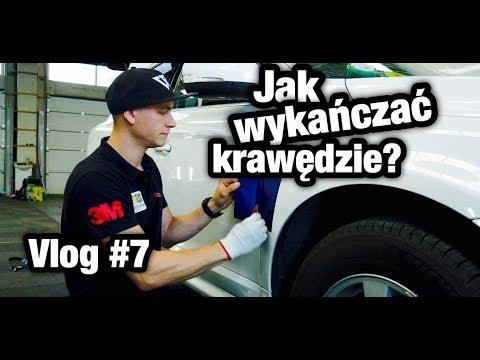 Oklejanie pojazdów - jak wykańczać krawędzie? Vlog #7