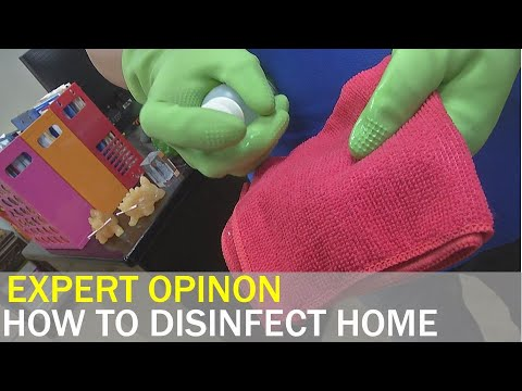 Expert Demonstrates The Correct Way To Disinfect Your Home | Taiwan News | RTI