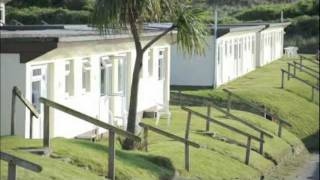 Chalets at Beachside Holiday Park, Hayle, Cornwall
