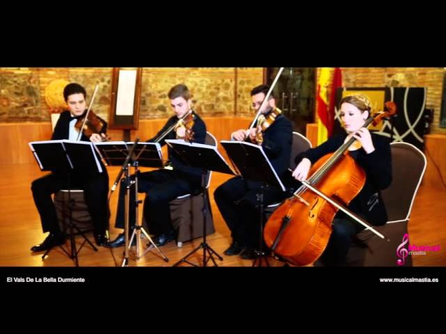 El Vals De La Bella Durmiente tchaikovsky String quartet Musical Mastia Bodas Murcia