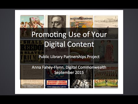 Promoting Use of Your Digital Content