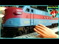 Cool Toy Train Videos For Kids. Electric Toy Train. Rebby's PlayTime.